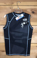 NEW Hayabusa Metaru Silver Rashguard 47 Sleeveless Shirt Mens Size Medium MMA