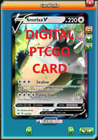 Snorlax V SWSH Pokemon TCG Online PTCGO 141/202 DIGITAL CARD