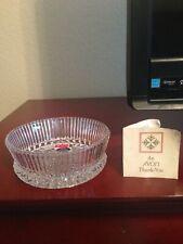 Avon Fostoria Bowl - Representatives Christmas Gift - 1979