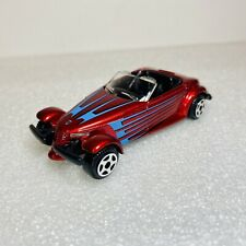 MotorMax (6045) Plymouth Prowler 1:55 (not 1:64) Diecast Metallic Dark Red