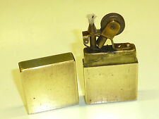VINTAGE trench art Brass Pocket Lighter-Before 1925-Unusual piece-VERY RARE