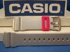 Casio Watch Band DW-6900 CB-8 Shiny Silver G-Shock Watchband Strap