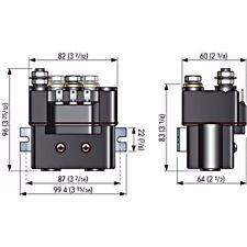 QUICK NAUTICAL EQUIPMENT- T6411-12 REVERSING  SOLENOID 12V  115A IP66