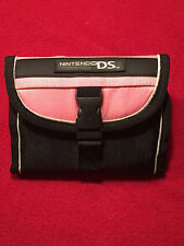 Nintendo DS Small Compact Pink Video Game Travel Case Bag Tote