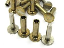 """NEW-KNIFE-PARTS :Nickel Silver Cutlery Compression Rivets 5/16"""" x 1/2"""" Set of 10"""