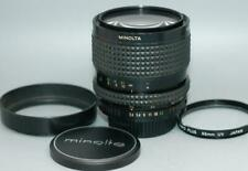 Minolta 35-70mm f3.5 MD manual focus zoom lens for X700 XD11 - Very Good cond.