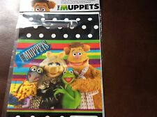 New Disney The Muppets Pack of 6 Party Bags Kermit Miss Piggy Gonzo Fozzy Bear