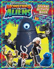 Monsters Vs Aliens - Sticker Activity Book,,New Book mon0000052813