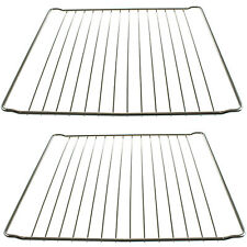 2 x 365mm x 395mm Strong Wire Oven Shelves Shelf Rack Grids for INDESIT Cookers