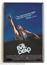 Evil Dead Fridge Magnet (2 x 3 inches) movie poster sam raimi bruce campbell