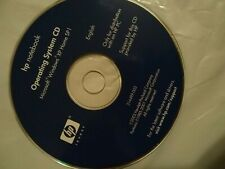 HP Notebook operating system CD Microsoft Windows XP home for distribution SP 1