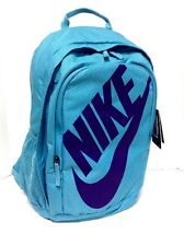 NIKE Hayward Backpack Athletic Sports Cheer Book Travel Bag Turquoise NWT