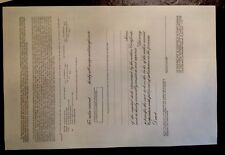 Rare-Rawlings Sporting Goods Stock Certificate-Hard To Find! Nice Condition!