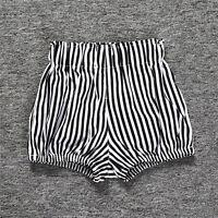 Summer Kids Baby Girls High Waist Pants Casual Shorts Bottom Trousers Fashion