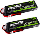 Ovonic 5500mAh 3S 11.1v 50c Lipo Battery With T Plug For DJI F450 Quadcopter