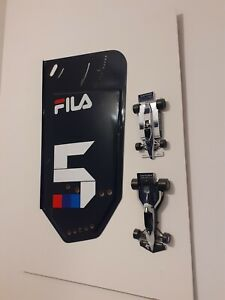 Brabham Formula 1 Rear Wing End Plate - (includes two models)