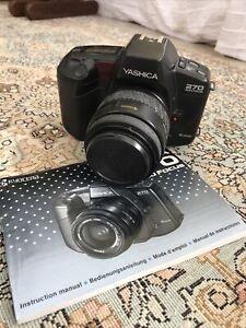 Yashica FX-D 35mm SLR Film Camera with 50mm lens Kit