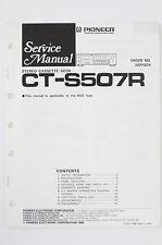 PIONEER CT-S507R Original Cassette Deck Service-Manual/Schaltplan/Diagram o99