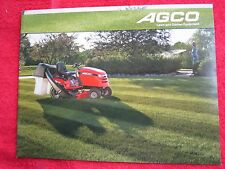 2009 AGCO LAWN & GARDEN TRACTORS & EQUIPMENT BROCHURE, MINT