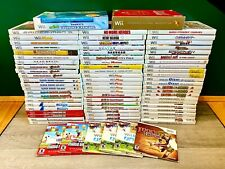 Nintendo Wii Games ~ Cleaned & Tested ~ HUGE Selection!