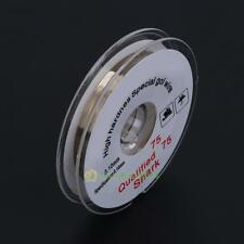 New 100m 0.1mm Gold Wire Cutting Line Separator LCD Outer Glass Cellphone Repair