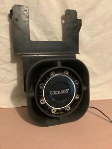 Whelen SA315P Siren Horn Speaker with bracket, 100 Watt, Used