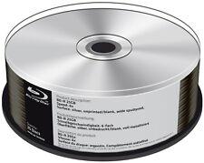 50 Mediarange Rohlinge Blu-ray BD-R silver blank 25GB 6x Spindel