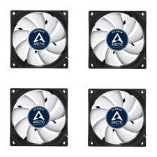 4 Lüfter * Arctic * F8 PWM Rev.2 * 80 x 80 x 25 mm * 4-pin PWM Anschluß *