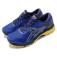 Asics Gel Kayano 25 Blue Lemon Spark Men Running Shoes Sneakers 1011A019-401