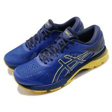 Asics Gel Kayano 25 Blue Lemon Spark Men Running Shoes Sneakers 1011A019-401