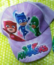 Cappello regolabile con visiera PJ Masks da bambina Super Pigiamini