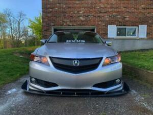 Fit ACURA ILX 2013 2014 2015 Front Upper Grill Grille w/ Emblem w Black Molding