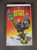 THE IRON GIANT WARNER BROTHERS VHS TAPE, 1999