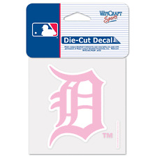 Detroit Tigers Car Window Decal 4 Inch Decal Pink
