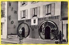 """cpsm 39 - ARBOIS (Jura) CAFÉ BAR CAVE """" Le TONNEAU """" HENRI MAIRE Vin Fou"""