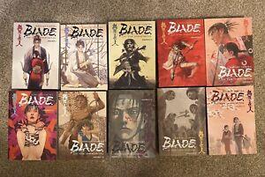 NEW Blade Of The Immortal Omnibus Complete Lot Vol 1-10 READ DESCRIPTION