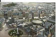 BOSTON, May Fair, Lincolnshire old postcard