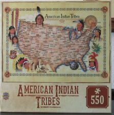 AMERICAN INDIAN TRIBES - NEW - MASTER PIECES PUZZLE