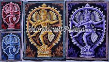 Wholesale Lot 10 Pc Indian Dancing Shiva Wall Hanging Large Tapestry Yoga Mat