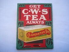 C1920S VINTAGE GET/ALWAYS BUY F&S JOINT C.W.S.TEA THAT'S THE POINT ADV PIN CASE