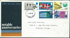 GREAT BRITAIN (UK)  - 1969  NOTABLE ANNIVERSARIES  First Day Cover  [6587]