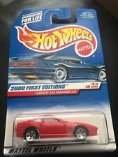 Hot Wheels Ferrari 550 Maranello #62 First Editions 2000 Red New!!!