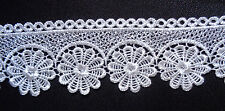 Venise lace trim, 2 3/4 inch wide  ivory color selling by the yard