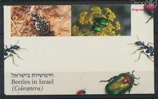 israël 1287-1290 carnet de timbres carnet timbres neuf 1994 coléoptère (9030147