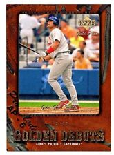 2001 UD Gold Glove Albert Pujols GOLD FINITE Rookie /25   Never See!