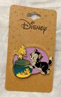 Disney's Pinocchio's Figaro Cleo BoxLunch Exclusive Layered Enamel Pin NOC