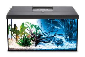 AQUAEL Aquarium Set LEDDY LED DAY&NIGHT komplett inkl. Abdeckung, Filter,Heizer