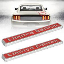 3d Limited Edition Style Emblem Car Body Decal Sticker Badge Decor Accessories 2 Fits Pontiac Sunfire