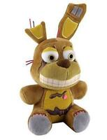 "Great gifts Five Nights At Freddy's SPRINGTRAP 6"" Plush Stuffed FNAF New+tags"