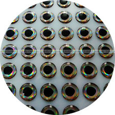 9mm 3D Real.Cold / Wholesale 300 Soft Molded 3D Holographic Fish Eyes, Fly Lure